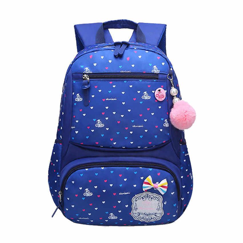 46807d892d27 Детские школьные сумки детские рюкзаки для девочек рюкзак школьный Mochila  Bookbag большие и маленькие Размеры Дети
