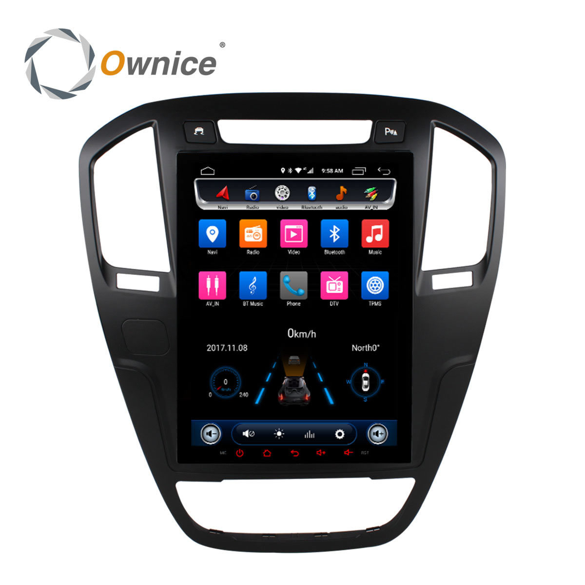 Octa Core 10.4 9.7 Vertical IPS 2.5D Screen Android 6.0 Car DVD Radio for BUICK Regal 2009 - 2013 Support 32G ROM 4G SIM Card