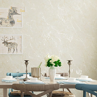 Modern Solid Color Non woven Wallpaper Plain Marble Crackle Wall Paper Roll Bedroom Living Room Wallpapers Home Decor