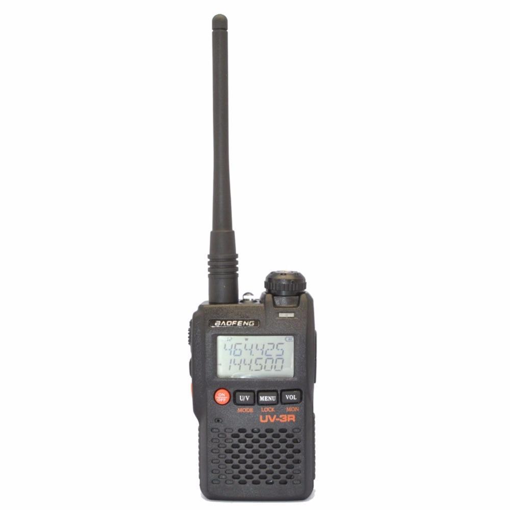 imágenes para Baofeng uv-3r mark ii 136-174/400-470 mhz de banda dual de doble frecuencia display de dos vías de radio cb ham radio