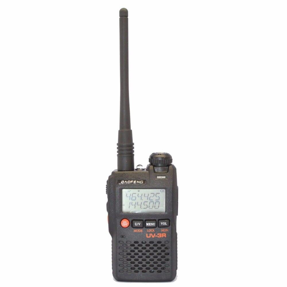 Baofeng uv-3r mark ii 136-174/400-470 mhz double bande double affichage de la fréquence deux-way radio cb ham radio
