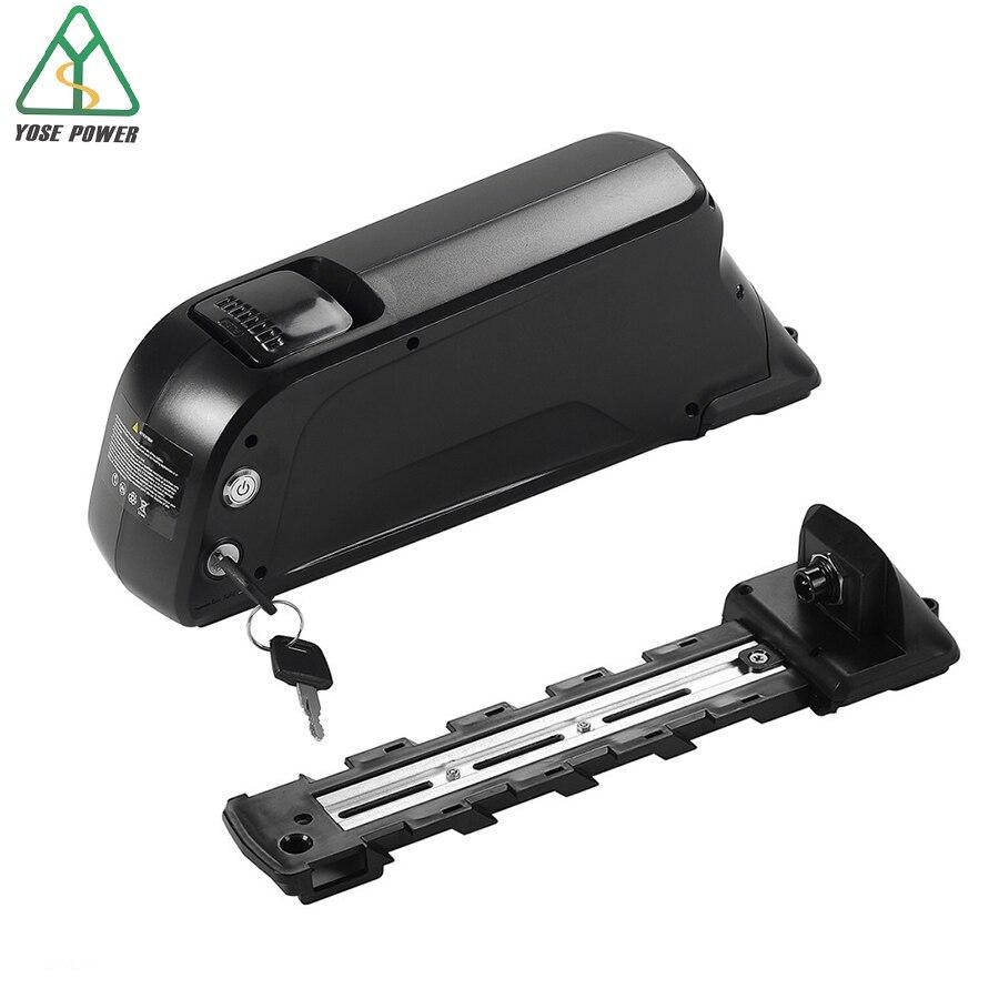 YOSE puissance Ebike 48V batterie avec USB noir vers le bas Tube Samsung Lithium ion batteries batterie velo electrique fiets accu bateria