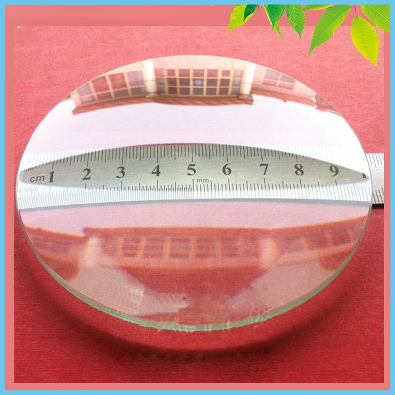 2 PCS 100mm Double Convex Lens Optical Glass Focal Length ...