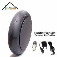 Portable vehicle air purifier mini auto car fresh air anion with PM2.5 formaldehyde removing
