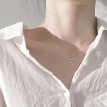 Fashion Pendant Necklace Simple Temperament Creative Geometric Square Exquisite Jewelry Gift