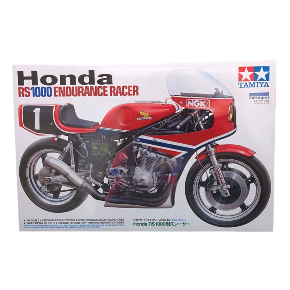 OHS Tamiya 14014 1/12 RS1000 Endurance Racer Scale ...