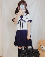 New fashion Japanese school uniform skirt jk uniform class uniforms sailor suit college wind suit female students uniforms