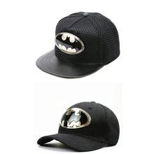 Ldslyjr 2017 algodón metal Batman gorra de béisbol hip-hop ajustable SnapBack  sombreros para niños 87841806e54
