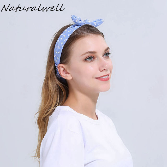 Naturalwell Top knot headbands Girl headbands Women headwrap Girls turban headband  Knotted headwraps Make up headbands 7d2a0ddc7f9