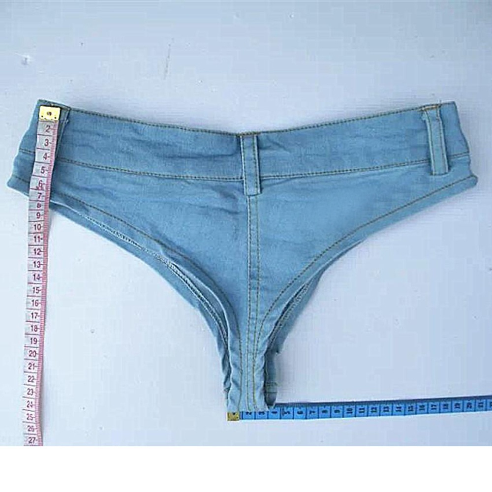 Mujer / Señora Summer Booty Denim Hot Jeans Shorts Vintage Micro - Ropa de mujer - foto 4