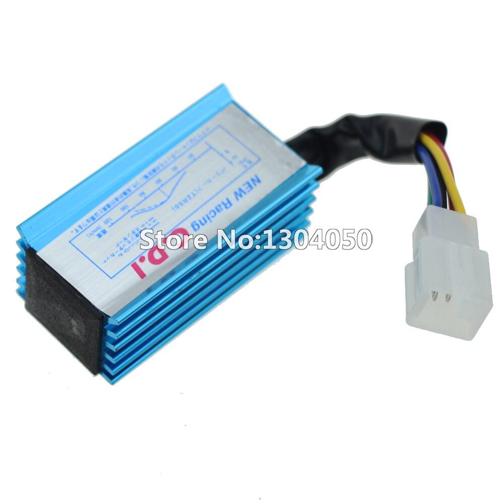 Wiring Loom Ignition Coil CDI C7HSA Spark Plug Kill switch 50cc 70cc ...