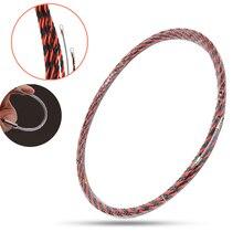 6,5 мм x 30 м Стекловолоконный кабель толкатель электрик трубопровод воздуховод кабель толкатели трубчатый змеевик роддер протяжная проволока проводник