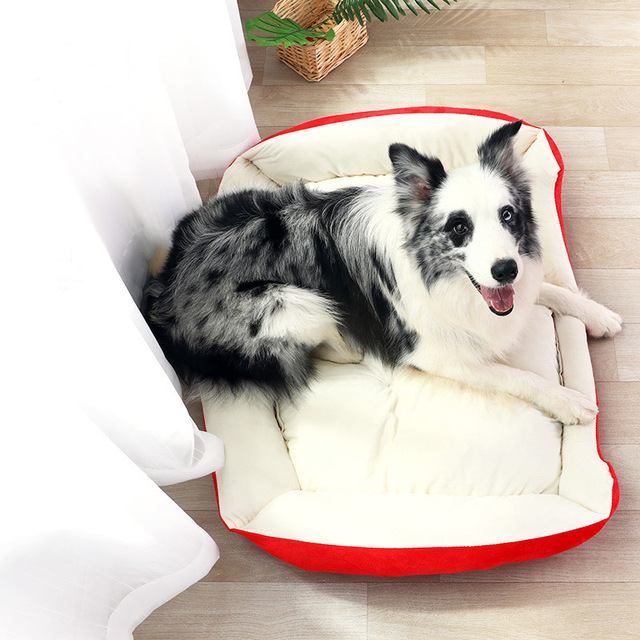Di modo Della Peluche Osso di Cane Letto Per Cani di Taglia Grande Labrador Golden Retriever Cane Coperta Letti Gatto Cucciolo di Cane Materasso Cestino per animale