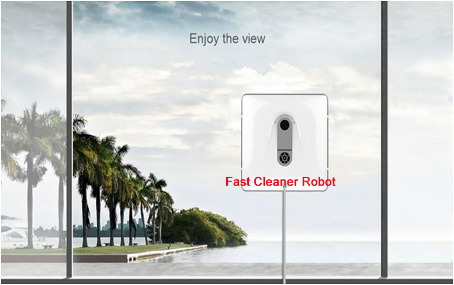 Newest Remote control Wet and Dry Magnetic Glass Cleaner Robot, double faced glass cleaner, window cleaning robot