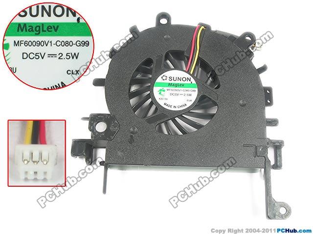Goedkope Verkoop Sunon Mf60090v1-c090-g99 Server Laptop Fan Dc 5 V 2.5 W 3-wire