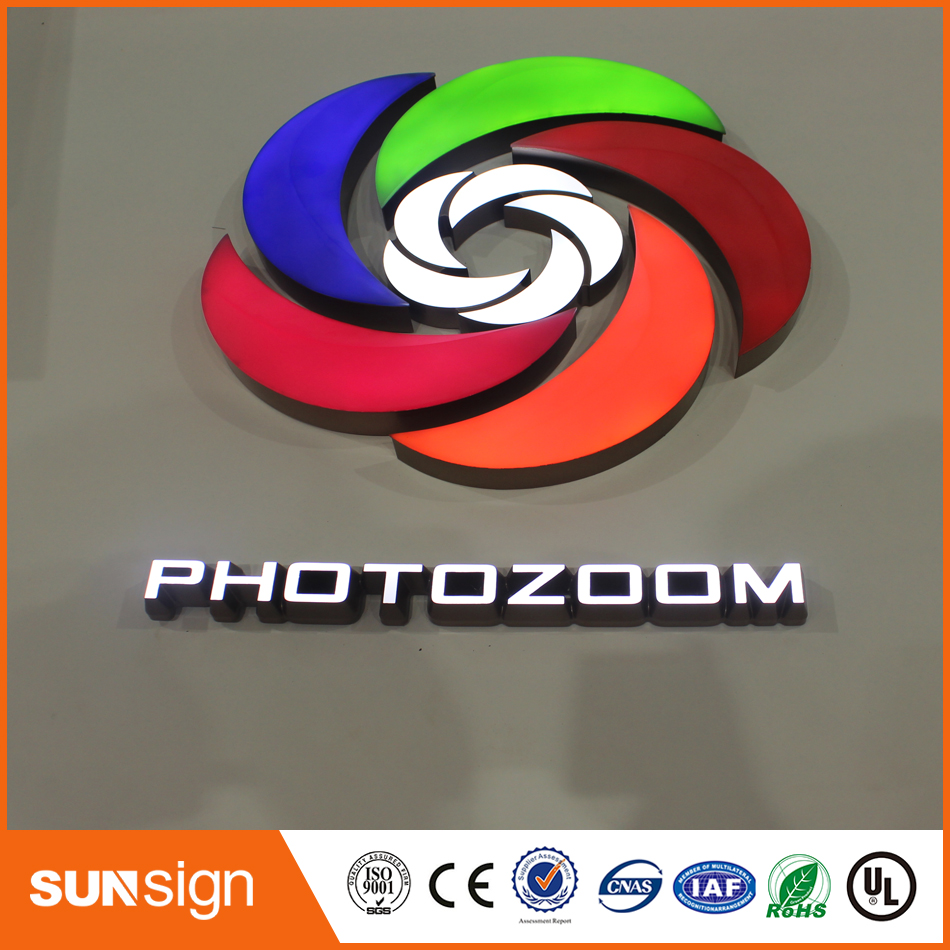 High Quality Frontlit Resin Led Letters And Signs