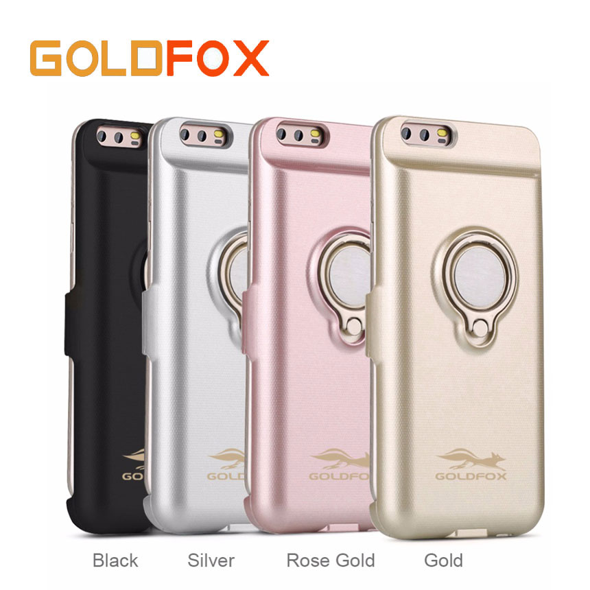 Goldfox External Pack Backup Battery Case For huawei p10 6000/8000mAh Power Bank Charger Case For Huawei P10 Plus Charging Cover