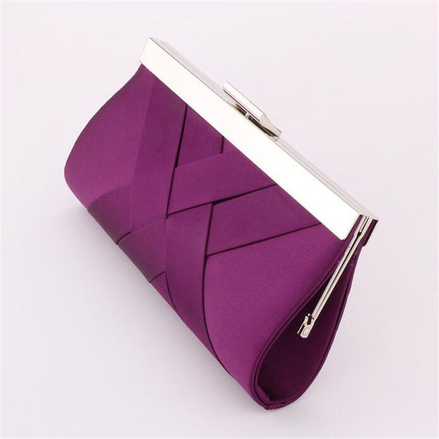 2017 !! Hot Noble Vintage Ladies Clutch Purse Chain Shoulder Bag Women Evening Bag Bride Wedding Party Handbag Clutch bolsa E006