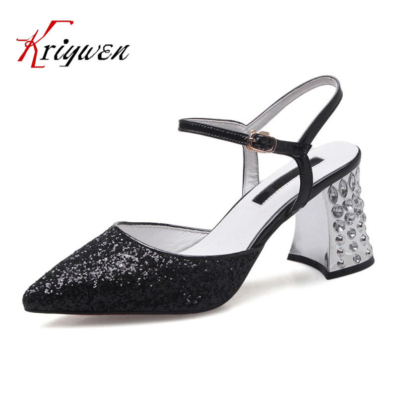 2017 summer crystal sandals glitter wedding shoes club bling sexy lady Fashion womens high heels shoes black white party sandals phyanic bling glitter high heels 2017 silver wedding shoes woman summer platform women sandals sexy casual pumps phy4901