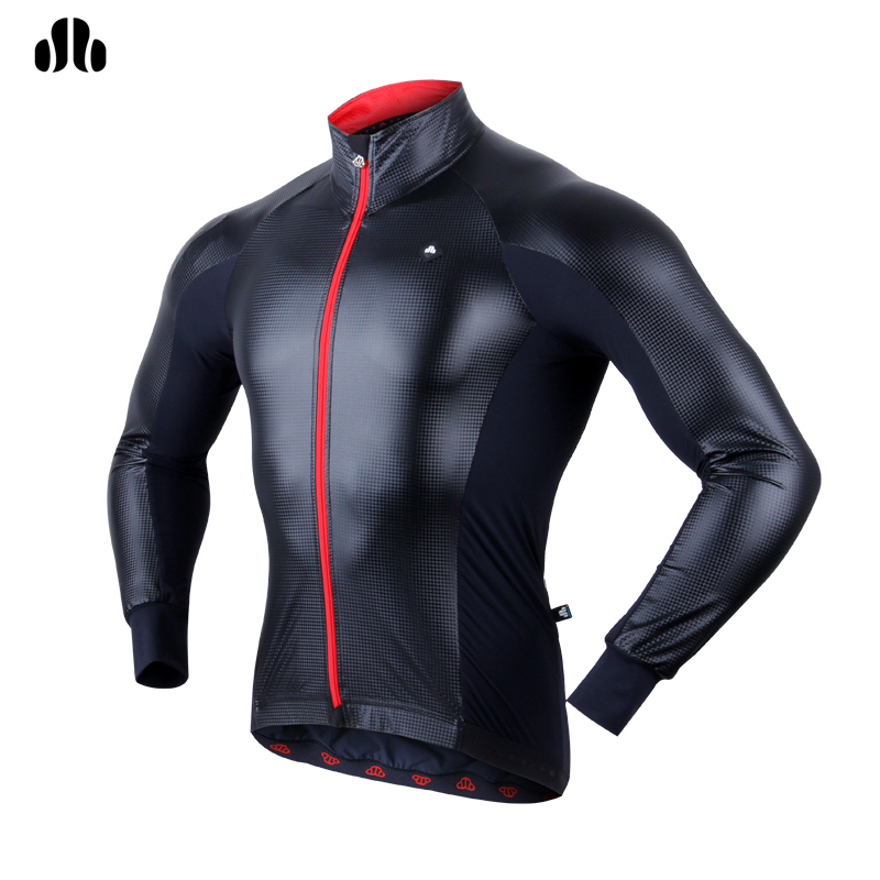 LANCE SOBIKE Men Long Sleeve Cycling Jerseys Spring Summer Road Bike MTB Top Jersey Outdoor Sports