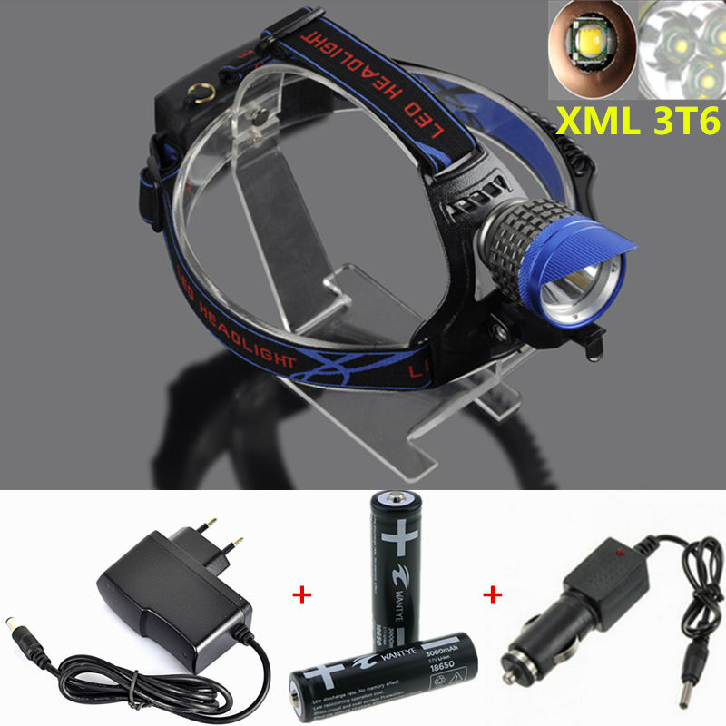 Led Spotlight Headlamp: Aliexpress.com : Buy 8000Lumens XML T6 Headlamp 4 Mode LED