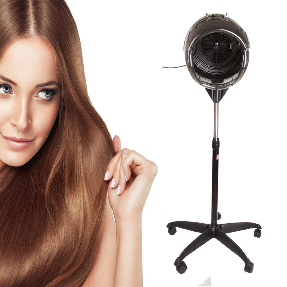 ФОТО Hair Dryer Professional Salon Blow Hair Hood Dryer Stand Diffuser Hairdresser Floor Perm Process CE approved