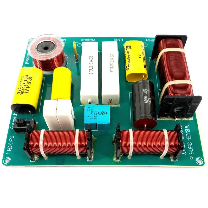 AIYIMA 1Pcs 300W 3way Frequency Board Bord KTV Faza Folësi Crossover - Audio dhe video në shtëpi - Foto 5