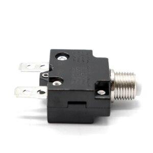 Image 3 - 1 Pcs Push Taste Reset Nur Schraube Terminals Rückstellbare Circuit Breaker Für Auto Marine Usw Überlast Schutz Circuit Breaker