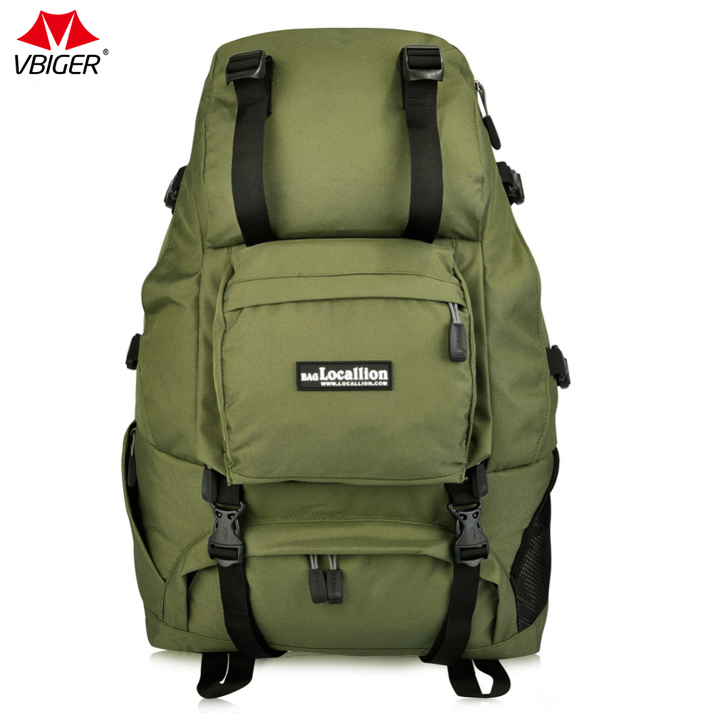 Vbiger 40L Large Capacity Bag Travel durable Backpack Canvas Unisex Shoulder Bag Casual Comfortable Bags for Travel High Quality kaukko large capacity shoulder bag mens traval canvas backpack unisex bags for teenager school knapsacks
