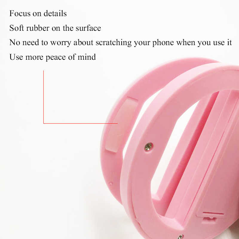Litwod Z90S мобильный телефон портативный зажим для селфи кольцо красота заполняющая вспышка объектив лампа для фото камеры сотовый телефон смартфон