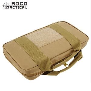 Image 2 - ROCOTACTICAL Tactical Single Pistol Case Military Pistol Hand Gun Bag Gun Rug Outdoor Soft Pistol Carrying Case