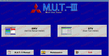 М. ut-iii pre17031 диагностического программного обеспечения [4.2017] диагностическое программное обеспечение для mitsubishi