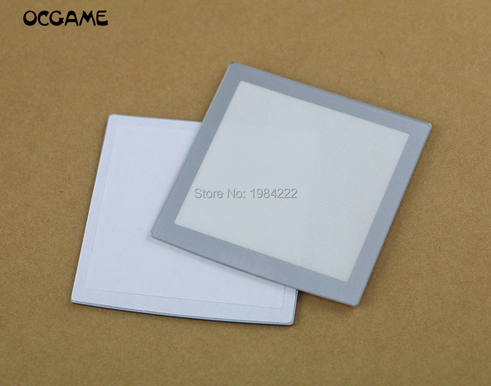 OCGAME 10pcs/lot Plastic For NeoGeo Pocket Silver LCD Protective Screen Lens For NGP Neo Geo Lens Protector(China)