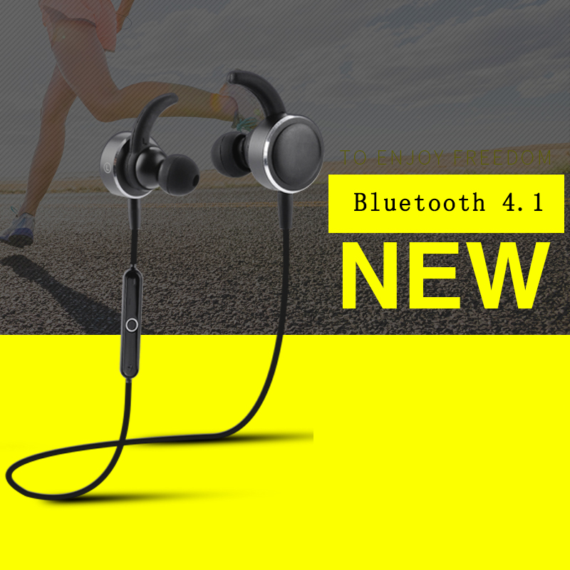 HuanYun Wireless bluetooth earphone Running Sport with Mic Wireless Headphone Bass Bluetooth  Headset with TF Card slot MIC wireless bluetooth earphone headphones s9 sport earpiece headset with tf card slot 8g auriculares with micro for iphone android