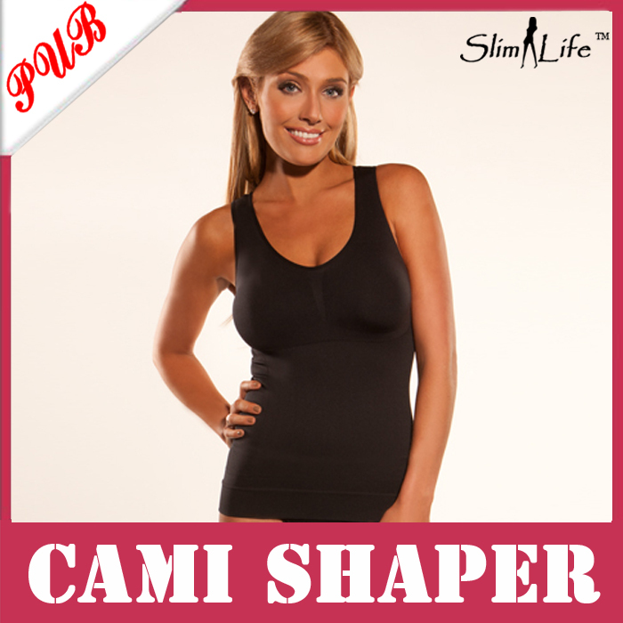 684c5da93473d As Seen As On TV Women Slimmer Tummy Trimmer Slimming Shapewear Padded Camishaper  Tops by Genie 1000pcs Free Shipping-in Tops from Underwear   Sleepwears on  ...