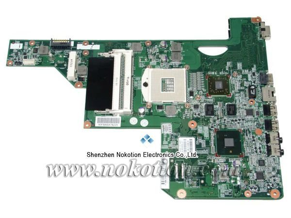 NOKOTION 608340-001 for HP G62 Laptop Motherboard intel HM55 ATI Video DDR3 100% Tested free shipping цена