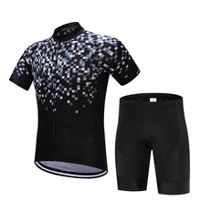 Фотография FUALRNY Bike Cycling Clothing/Cycling Jersey Sets With Bib 2016 New Style Bicycle Summer Short Sleeve Outdoor Sportswear