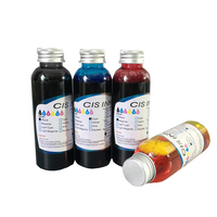 100ML x 4PCS Universal Edible Ink For Canon for Epson Desktop Inkjet Printer For Cake Chocolate coffee & food printer