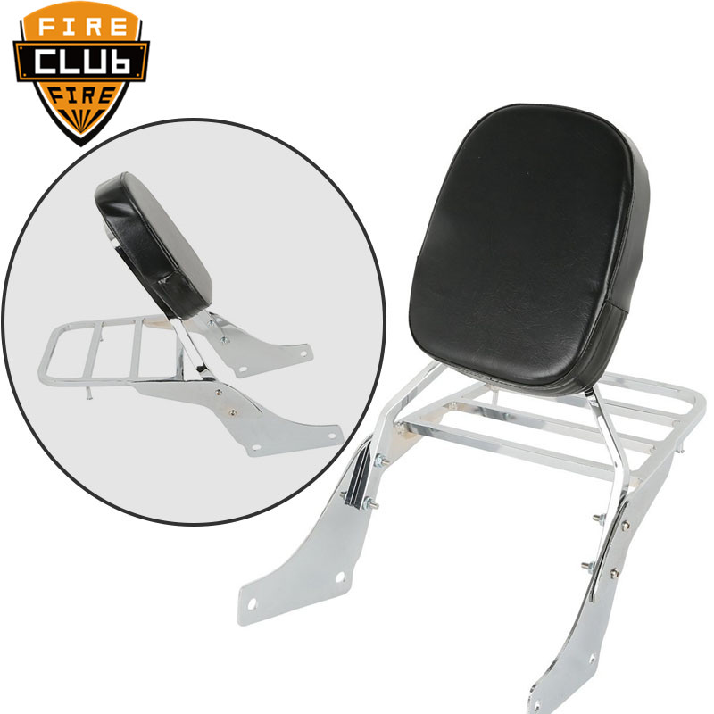Rear Luggage Rack Support Holder Saddlebag Cargo Shelf Bracket Backrest Sissy Bar Passenger For Shadow SABRE 1100 ACE VT1100