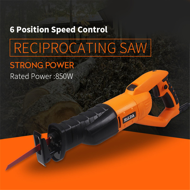 950w Reciprocating Saw Woodworking Electric Saw 6 Speed Portable Electric Saws 220v/50hz Scroll Saw Jig Saw