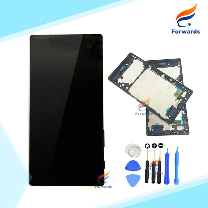ФОТО Brand New Original for Sony Xperia Z5 Plus E6883 E6853 LCD Screen Display + Touch Digitizer Frame Assembly for Sony Z5 Premium