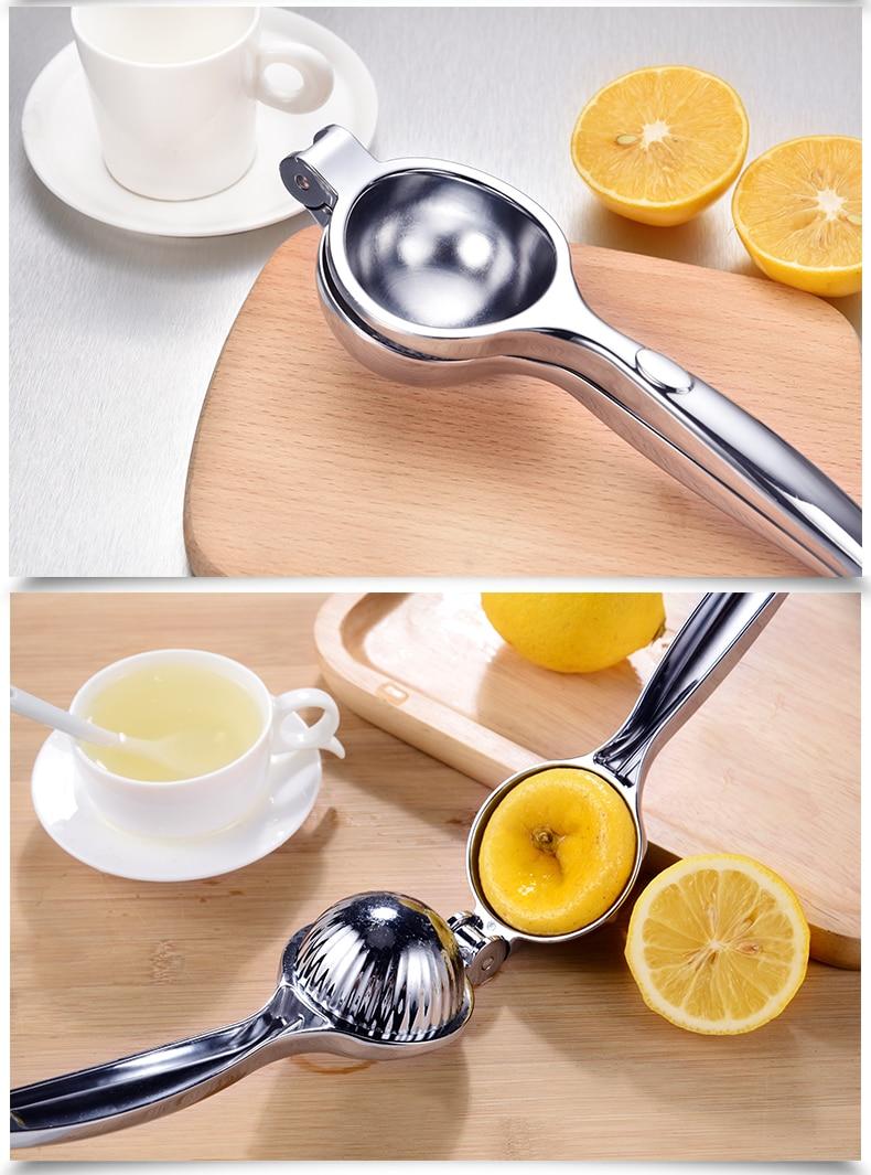 Portable Stainless Steel Mini Lemon Juicer Squeezer 2 Sizes Mini Blenders Press Juicer Maker Machine