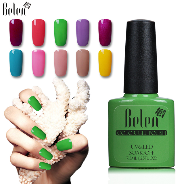 Belen 7.3 ml gelpolish selección 1 gel uv color esmalte de gel ...