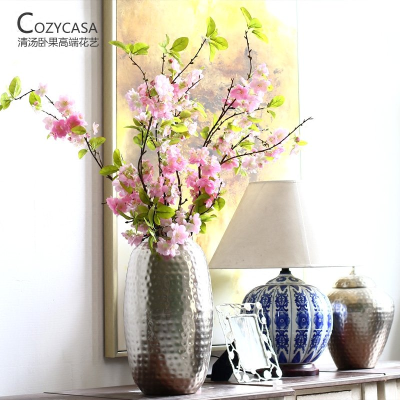 Elegant and beautiful cherry simulation flower home restaurant decorated long-stick decorative flowers пуф dreambag круг cherry
