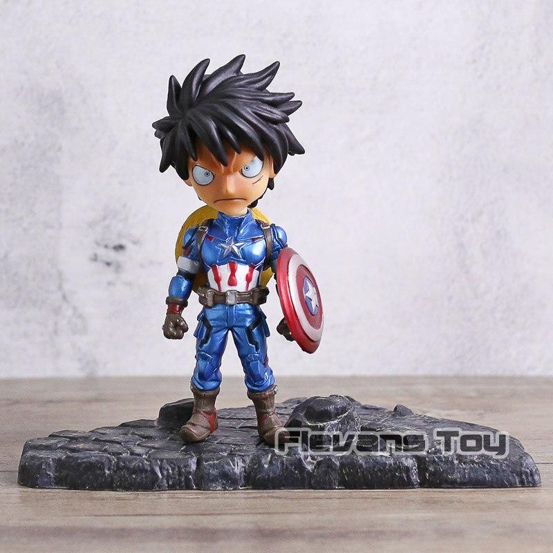One Piece 13-15cm Luffy cos Captain Sanji Cos Nick Fury New No Box