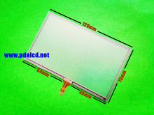 10pcs/lot Original New 5-inch 120mmx73mm Touch screen for 120mm*73mm GPS Touch screen digitizer panel replacement
