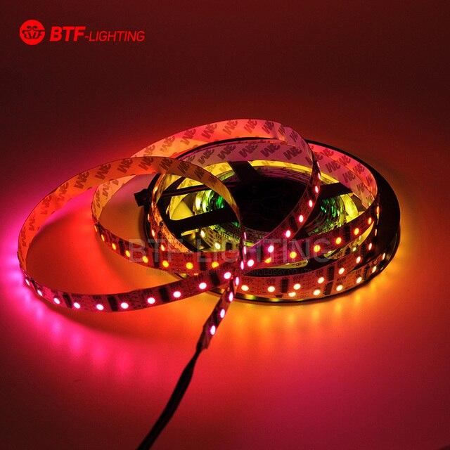 5M 60 LED/m pixels LPD8806 Non-waterproof SMD 5050 RGB LED Strip Light Individual Addressable Flexible DC5V free shipping