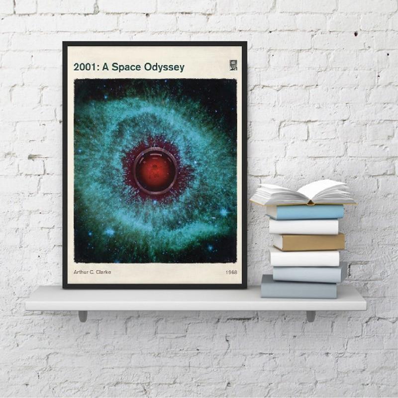 A Space Odyssey - Medium Literary Book Cover poster Home Decor