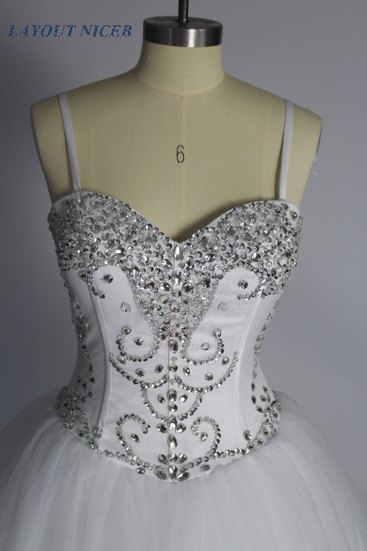 Πριγκίπισσα κρύσταλλο μπάλα φόρεμα - Γαμήλια φορέματα - Φωτογραφία 6