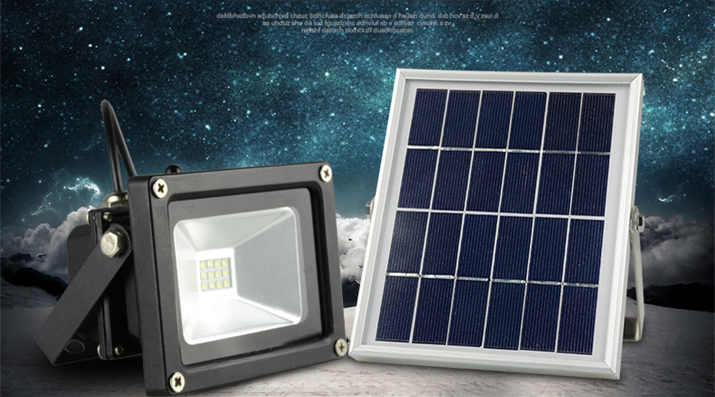 Outdoor solar powered led flood light 10w with 5m wire2200ma outdoor solar powered led flood light 10w with 5m wire2200ma battery for garden solar floodlights spotlights lamps waterproof in floodlights from lights mozeypictures Choice Image
